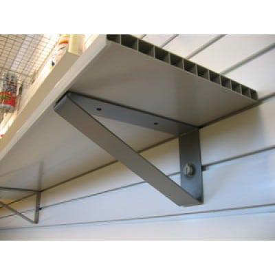Heavy Duty 15 Bracket Wall Garage Shelving