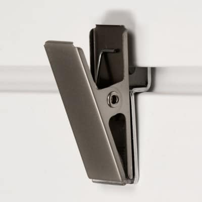 Brushed Chrome Clip
