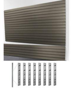 garage storage HD slatwall and install