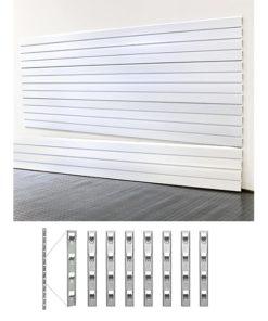 garage organization SD slatwall plus install