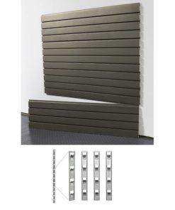 garage storage SD slatwall and install