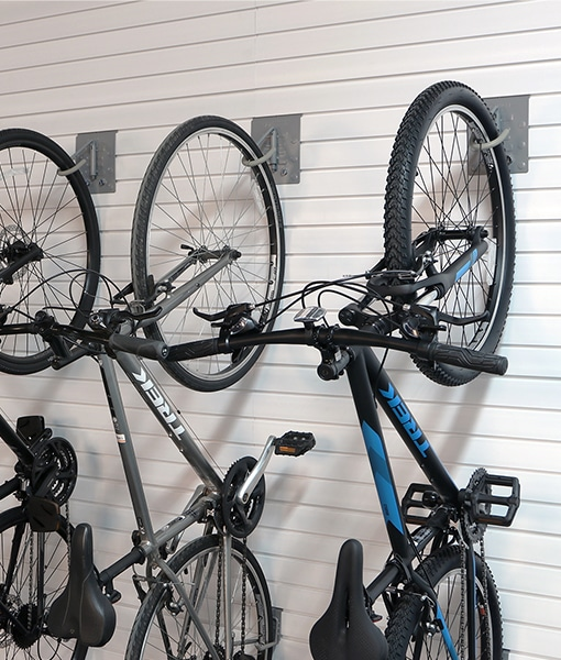 bike wall storage